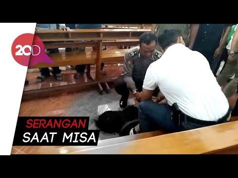 Video Penyerangan di Gereja Santa Lidwina Sleman!!
