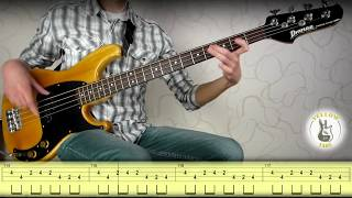 Michael Jackson - Billie Jean (bass cover) with tabs