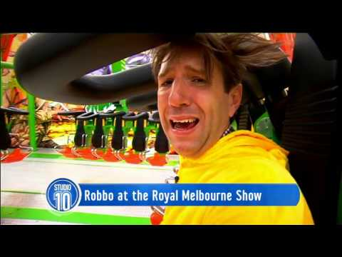 Robbo At The Royal Melbourne Show