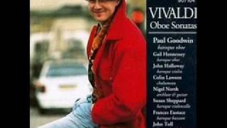 Vivaldi - Sonata for oboe & continuo in C minor, RV 53 - IV. Allegro