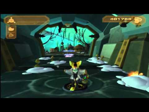 Let's Play Ratchet & Clank 3: Up Your Arsenal Part 30: Golden Qwark Action Figure