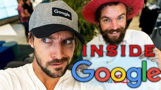 Inside Google: What It's Like Inside Google Headquarters in Silicon Valley