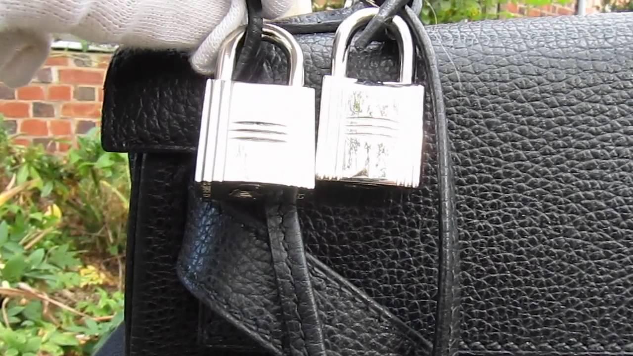 hermes bag fake key