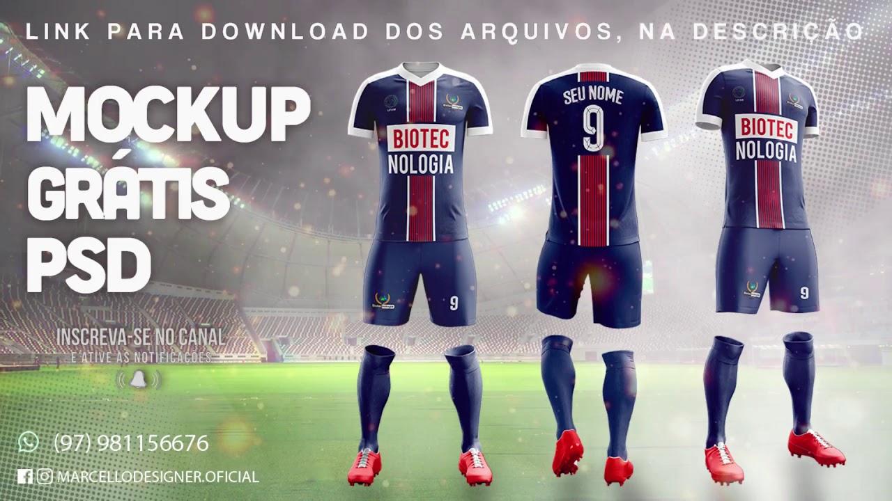 Download Mockup Uniforme Futebol Psd Gratis Yellowimages