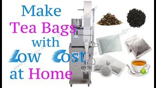 tea bag packing machine automatic and low cost for small business