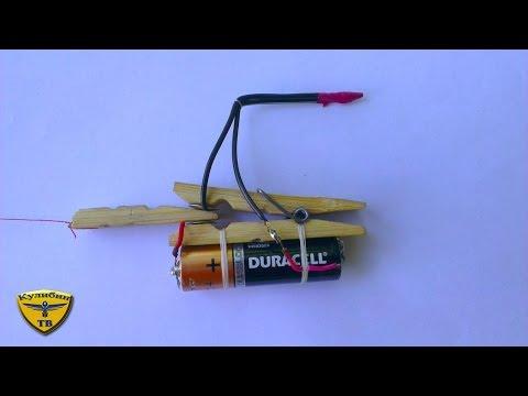видео: Как сделать простую сигнализацию из ПРИЩЕПКИ / how to make a simple alarm from clothespins