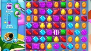 Candy Crush Soda Saga Level 312 (Delish Fish)