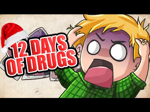 Thumbnail: PEWDIEPIE CHRISTMAS SPECIAL! (12 DAYS OF DRUGS) By: Cypherden