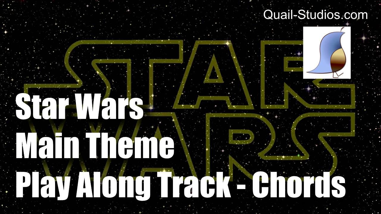 Star Wars Main Theme Guitar Chords Youtube