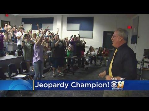 Keller High Teacher Is Jeopardy! Champion