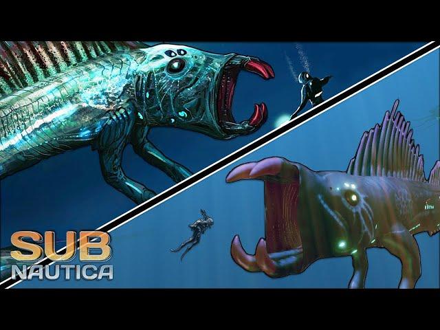 14 NEW CREATURES + The GULPER LEVIATHAN! - De-Extinction Mod | Subnautica