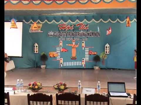 Thi ATGT Trường Mầm Non I TP Hà Tĩnh - P.1