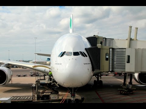 Emirates | Airbus A380 | AMS-DXB | Business