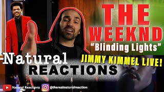 The Weeknd - Blinding Lights (Live On Jimmy Kimmel Live! / 2020) REACTION