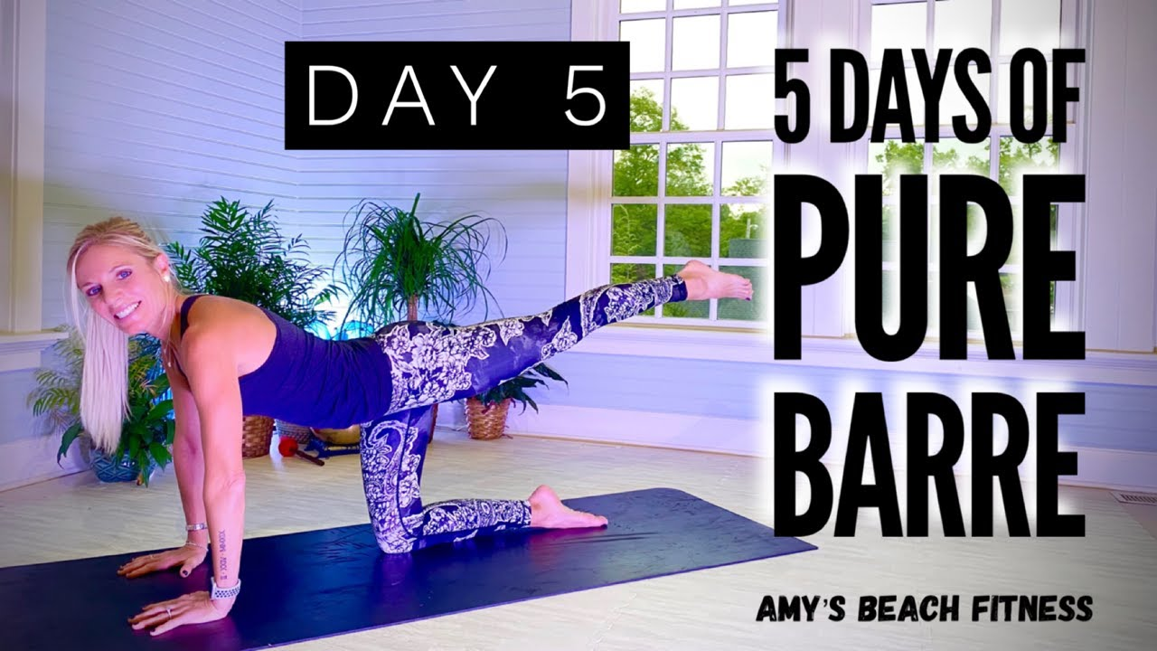 5 Days of PURE BARRE Workouts - Day 5