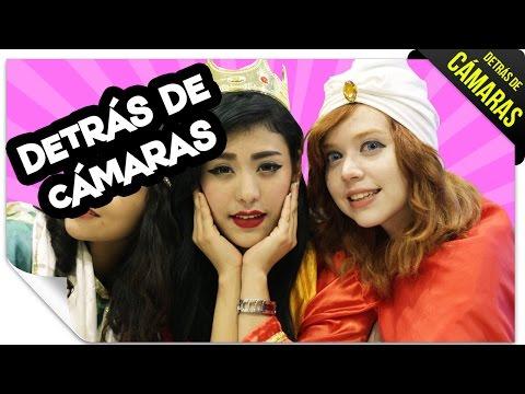 DETRÁS DE CÁMARAS: Las Reinas Magas  QueParió!