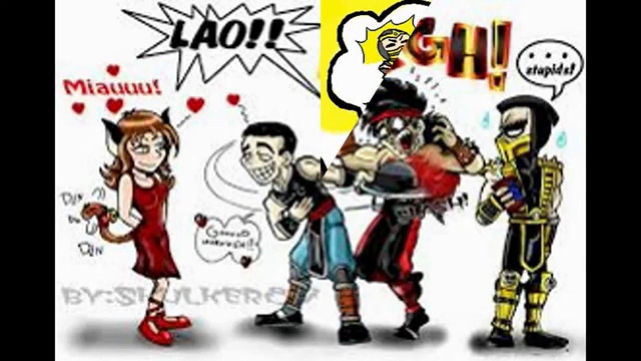 Mortal Kombat Funny Pics 1 Español