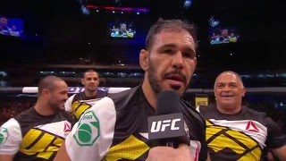 UFC 198: Antonio Rogerio Nogueira Octagon Interview