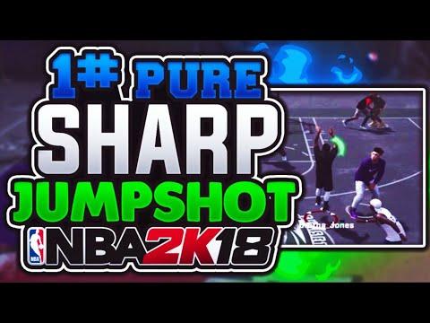 PURE SHARP + BEST RELEASE JUMPSHOT = GREEN RELEASES!!! NBA 2K18