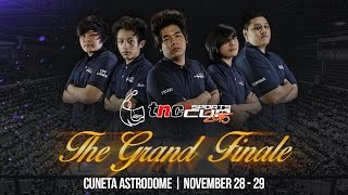 The Grand Finale 2015 - ESPADA.XTRMST Team Profile
