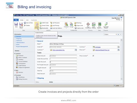 CRM-Project Billing and Invoicing