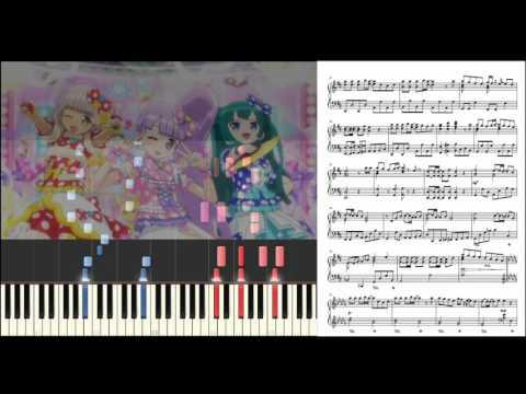 【ピアノ】プリパラ / シュガーレス×フレンド【楽譜あり】