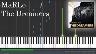 MaRLo - The Dreamers (Piano Tutorial & Sheet Music)