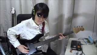 R.I.P. Mick Karn -- Methods Of Dance / Japan (Live Version, Bass Cover)