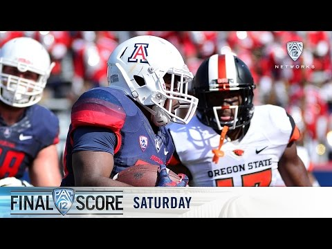 Highlights: Arizona routs Oregon State in first conference win