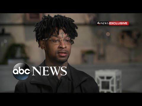 Смотреть Rapper 21 Savage fears deportation after ICE arrest онлайн