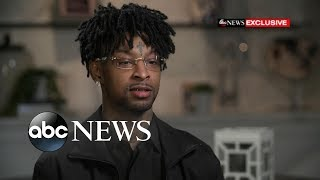 Фото Rapper 21 Savage Fears Deportation After ICE Arrest