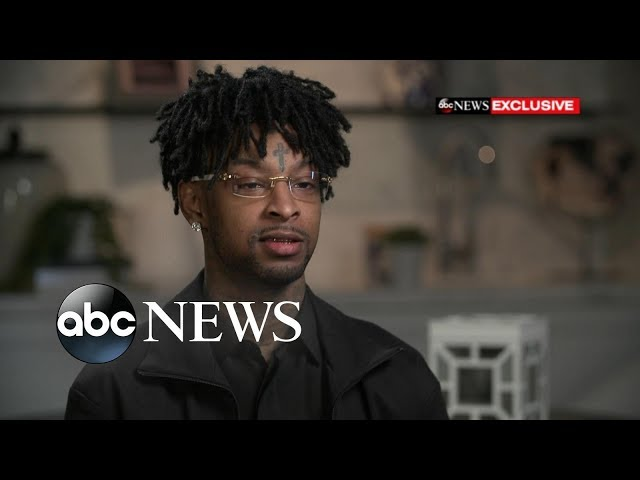 Rapper 21 Savage fears deportation after ICE arrest