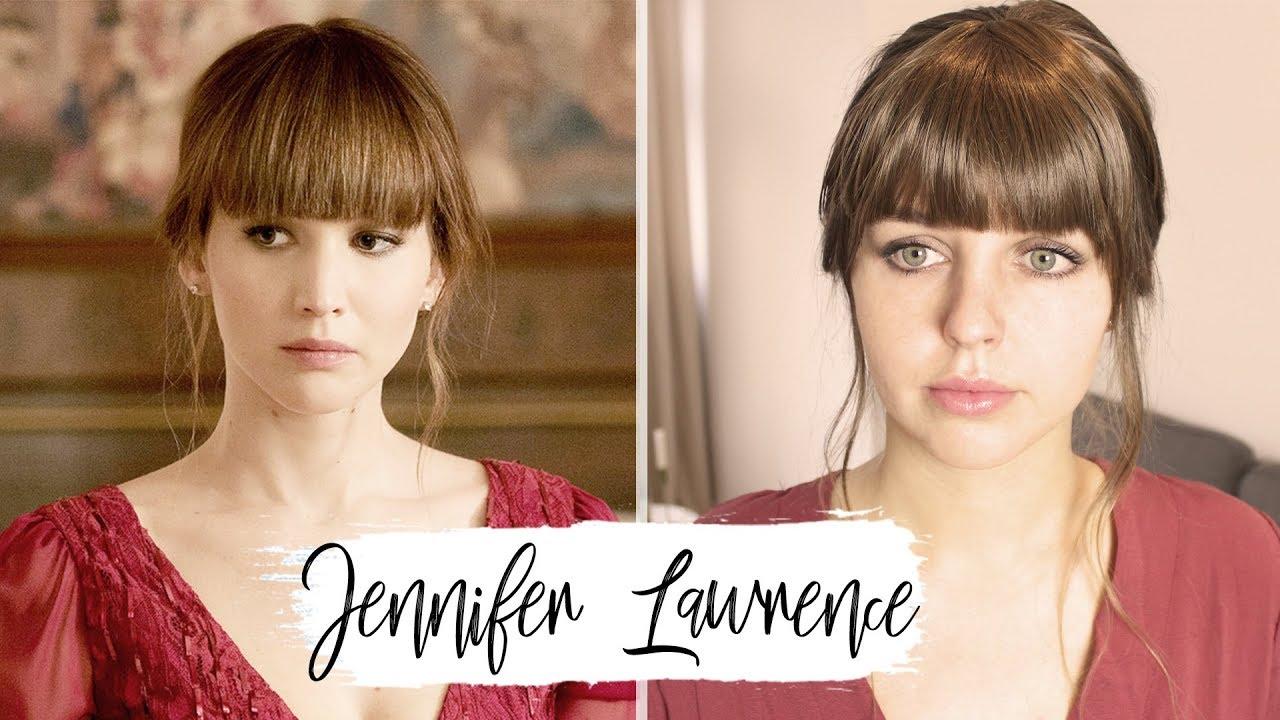 Jennifer Lawrence Inspired Hair Red Sparrow Frisuren Freitag