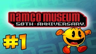 """Namco Museum 50th Anniversary Challenge - #1 - """"PACMAN!"""" (Gameplay/Let"""