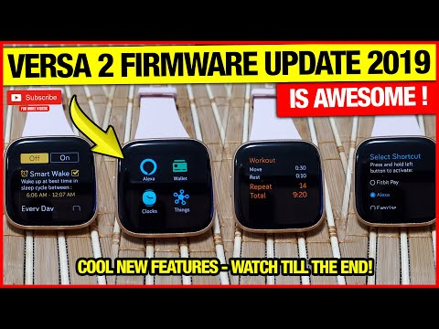 FITBIT VERSA 2 - NEW FIRMWARE UPDATE IS AWESOME