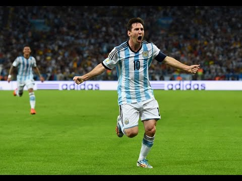 Lionel Messi | Aero Chord - Surface | World Cup 2014 | Goals & Skills