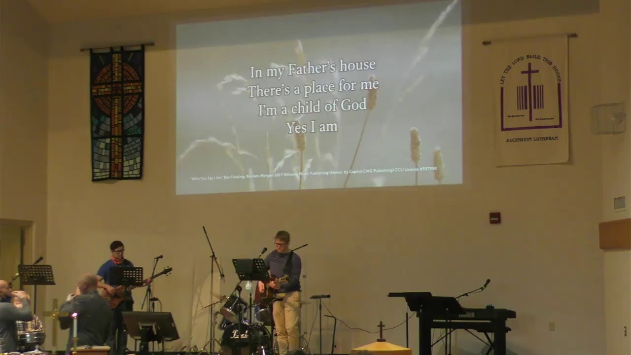 Ascension Lutheran Church Maple Campus 10:00am Service Oct. 25-2020