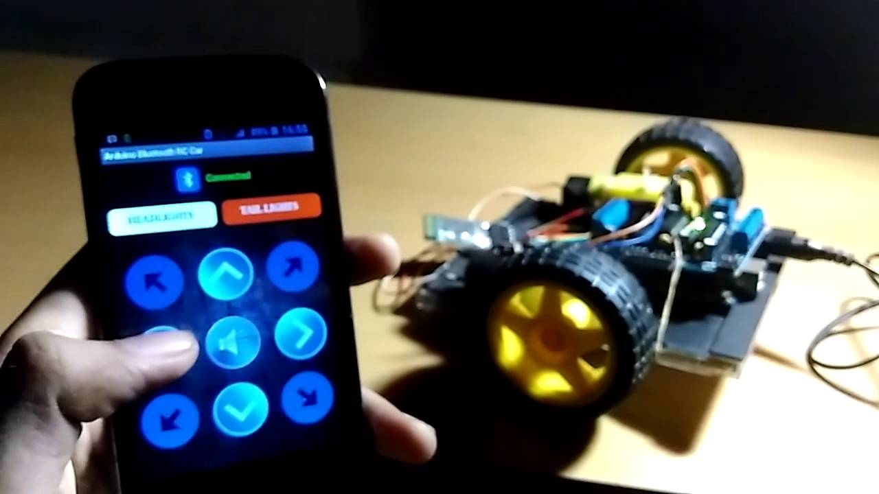 Diy arduino bluetooth rc car youtube