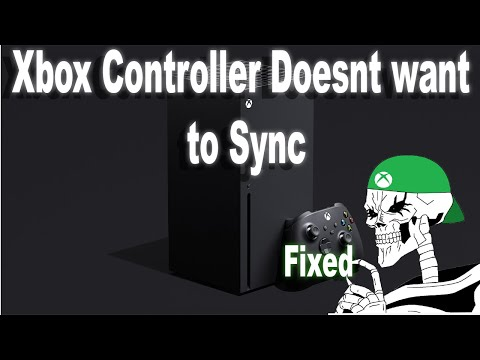 How to fix Xbox Series X controller sync issue