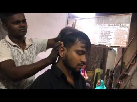 The Great Indian Head and Upper Body Massage (back Crack)   Episode 4