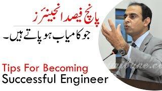 Tips For Becoming Successful Engineer   Qasim Ali Shah (In Urdu)