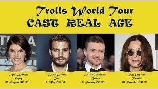 Trolls World Tour Cast Age