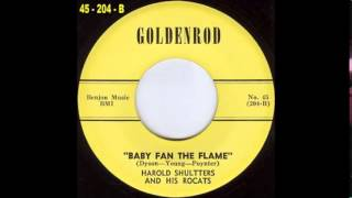 Harold Shultters And His Rocats Baby Fan The Flame GOLDENROD 204