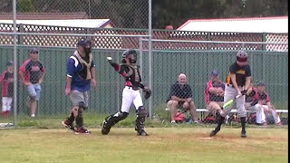 Illawarra baseball - Big hit with mako torque 2016