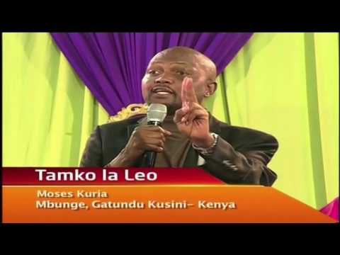 Hon Moses Kuria says that Musalia Mudavadi will soon join Cord