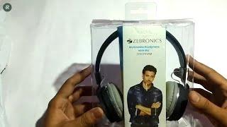 Zebronics Storm Headphones - Unboxing and Review Best Headphones Under 1000 Zebronics Headphones