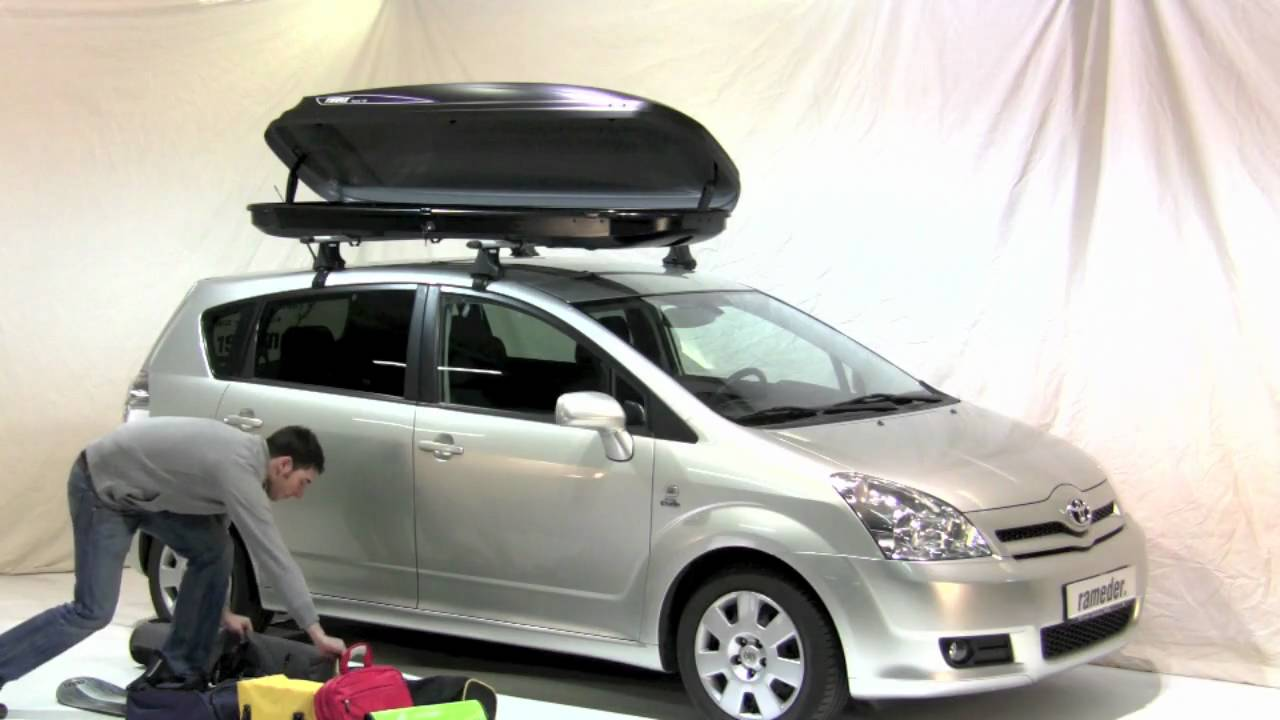 thule pacific 700 dachbox rameder anh ngerkupplung youtube. Black Bedroom Furniture Sets. Home Design Ideas