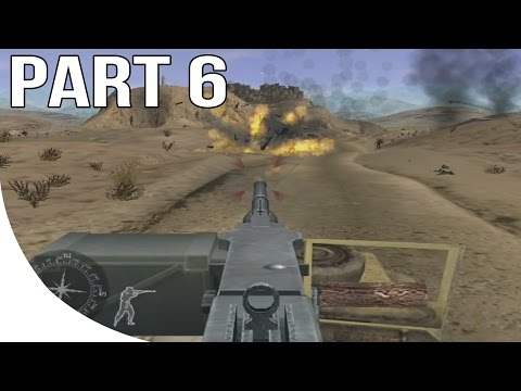 Call of Duty Finest Hour Gameplay Walkthrough Part 6 - North Africa - Desert Ride