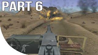 Call of Duty Finest Hour Gameplay Walkthrough Part 6 - North Africa - Desert Ride