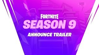 Fortnite SEASON 9 OFFICIAL ANNOUNCE TRAILER - France Saison 9 EPIC GAMES REAL BATTLE PASS TRAILER LEAKED